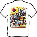 Camiseta Camino de Santiago Quijote
