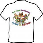 Camiseta Camino de Santiago Tortugas Peregrinas