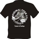 Camiseta Camino de Santiago Zapatillas Militares